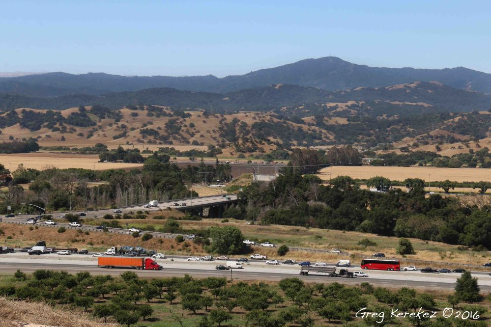 5-26-16 FB Coyote Valley and Hwy 101 from Metcalf Canyon-IMG_9582-Greg Kerekez©2016